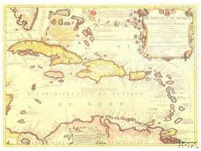 1688 caribbean west indies antique map reproduction old world maps 1688 caribbean west indies antique map reproduction gumiabroncs Images
