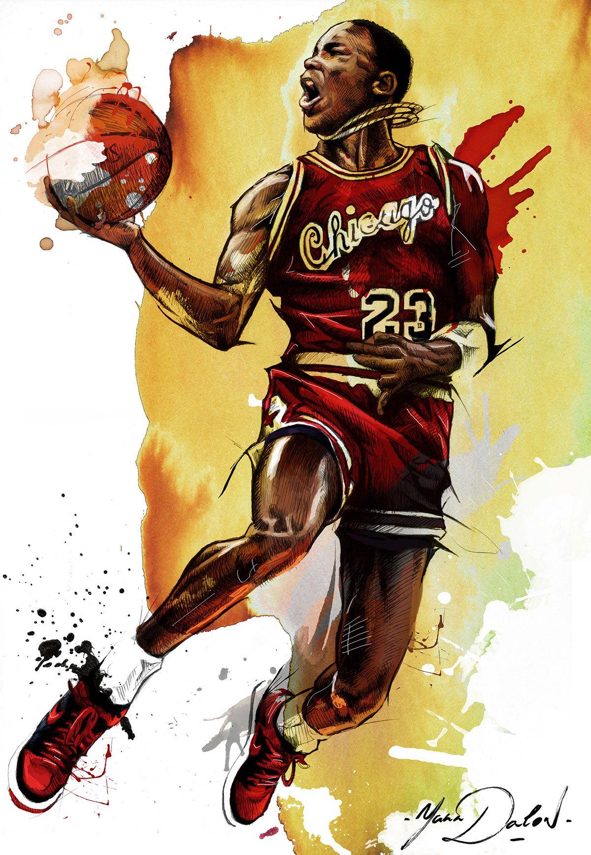 Michael Jordan\\ Year One on Behance | Basquete | Pinterest
