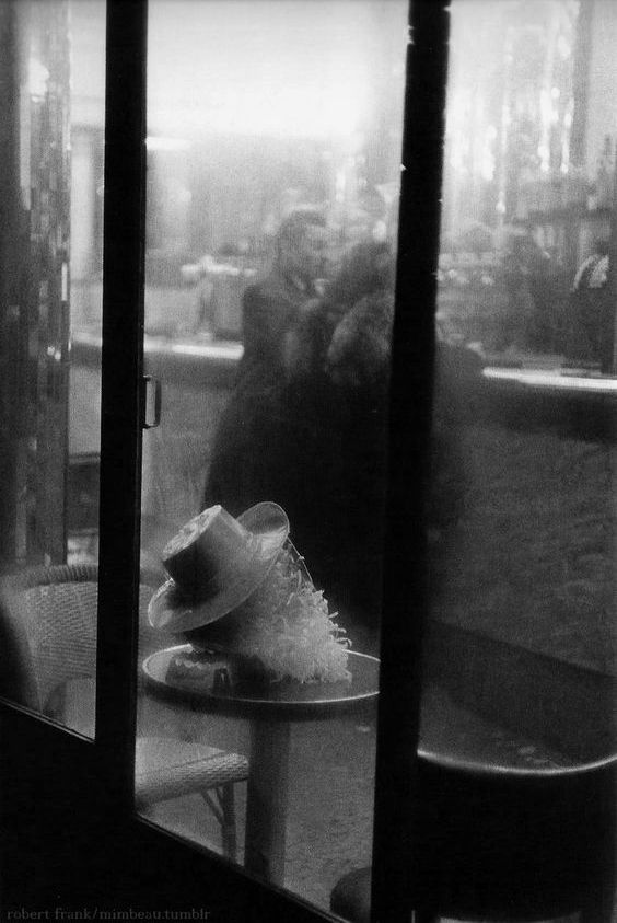 by Robert Frank, New Year's Eve at the bistro, Paris, ca. 1950