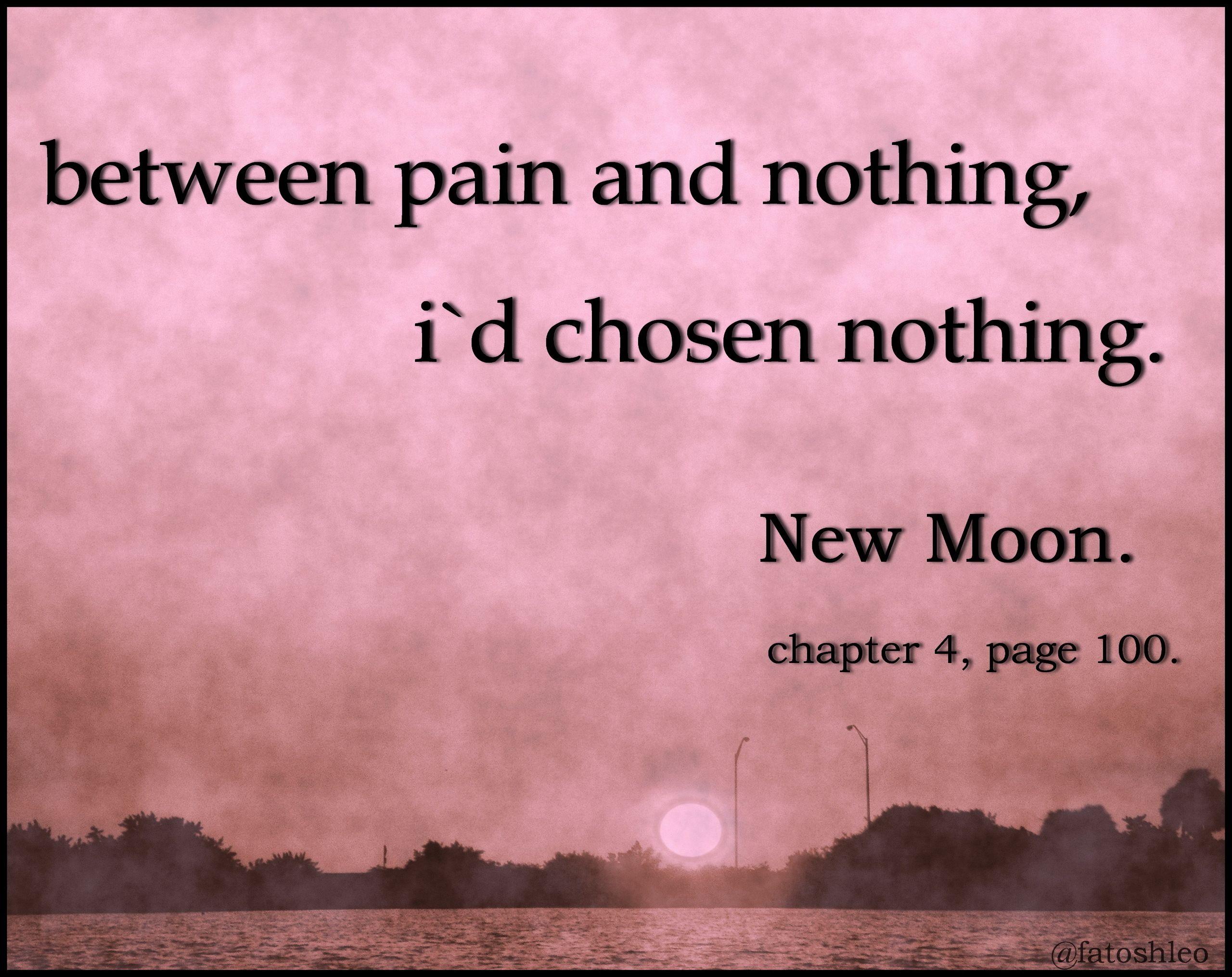 bella new moon quote - books-to-read Fan Art