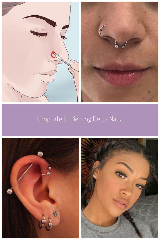 So reinigen Sie Ihr Nasenpiercing: 13 Schritte #piercing