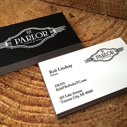 The duplex business card by primo press an online letterpress the duplex business card by primo press an online letterpress printing company reheart Choice Image