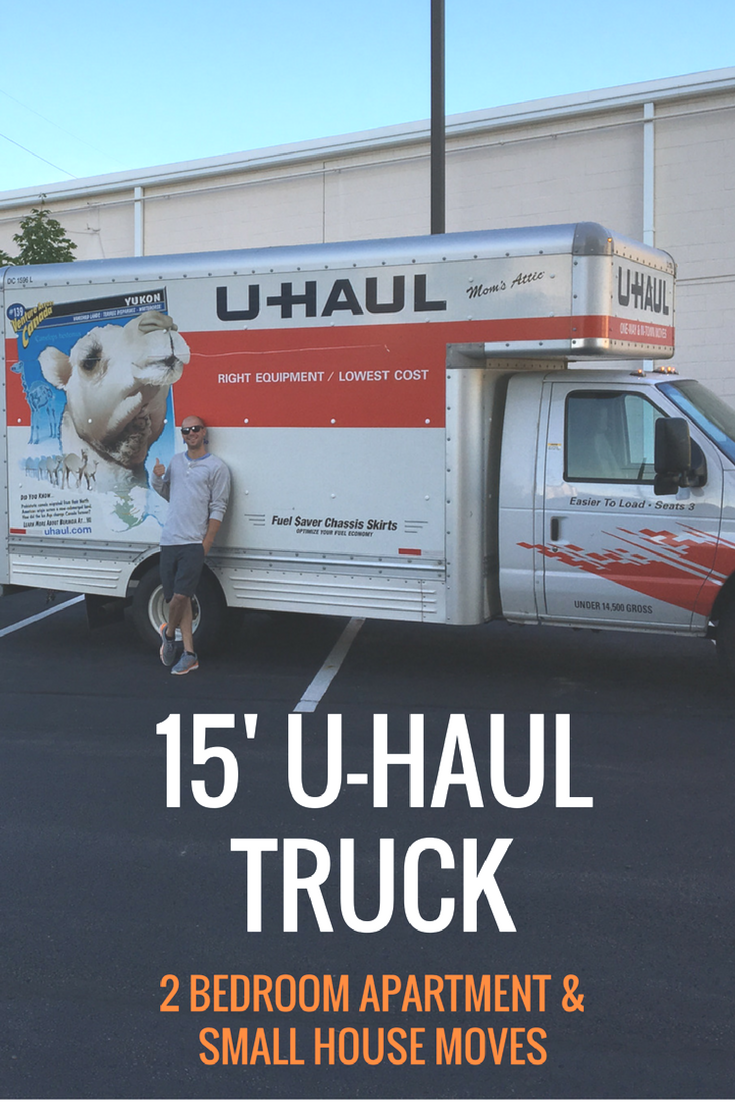 U Haul S 15 Moving Trucks Are Perfect For 2 Bedroom Moves Loading Is 50 Percent Easier With The Low Truck Deck U Haul Truck Uhaul Truck Moving Truck Rental