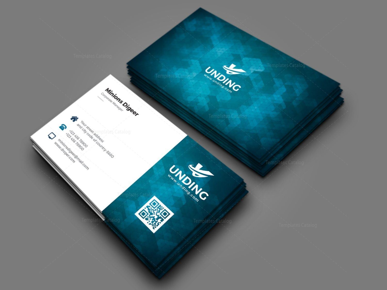 Aurora Professional Corporate Business Card Template 000927
