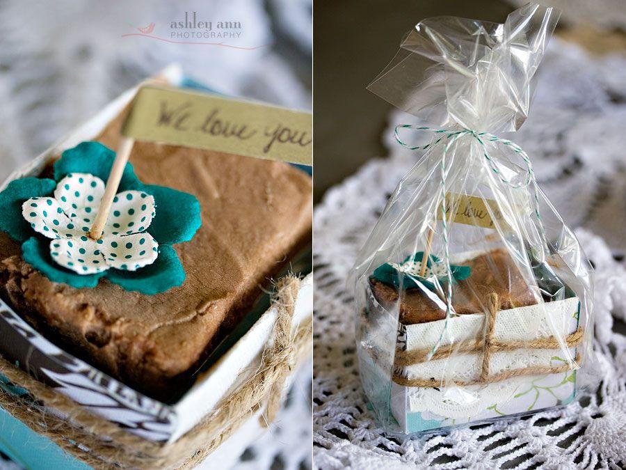Diy Week Paper Brownie Boxes Christmas Box Brownies
