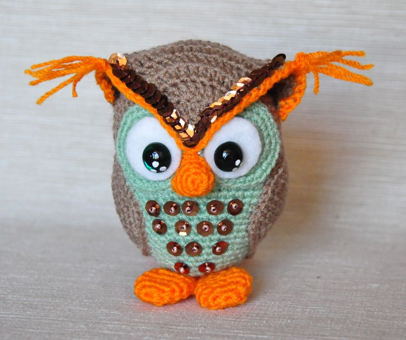 Río the Owl, link to free pattern | CROCHET OWLS | Pinterest | Los ...