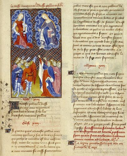 illustration of the writings of Christine de Pizan