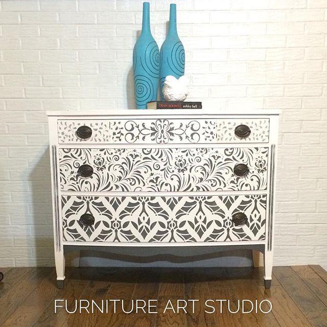 Just Finished This Today Next Furnitureartstudio Vintagehome Vintagestyle Toledoohio Furnituremakeover Wise Owl Paint Furniture Makeover Art Studios