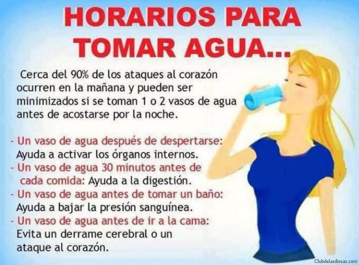 Como beber agua correctamente para bajar de peso