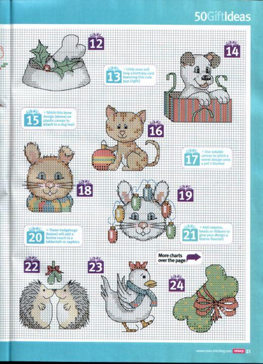 Gallery.ru / Фото #1 - Cross Stitch Crazy 170 рождество 2012 - tymannost
