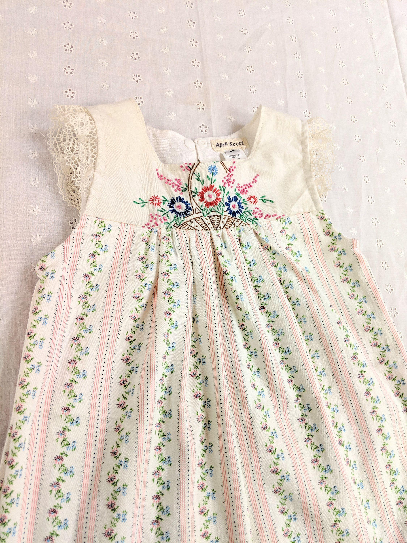 4t Embroidered Flutter Sleeve Girls Easter Dress Floral Etsy Girls Easter Dresses Handmade Girls Dress Dresses [ 3000 x 2250 Pixel ]