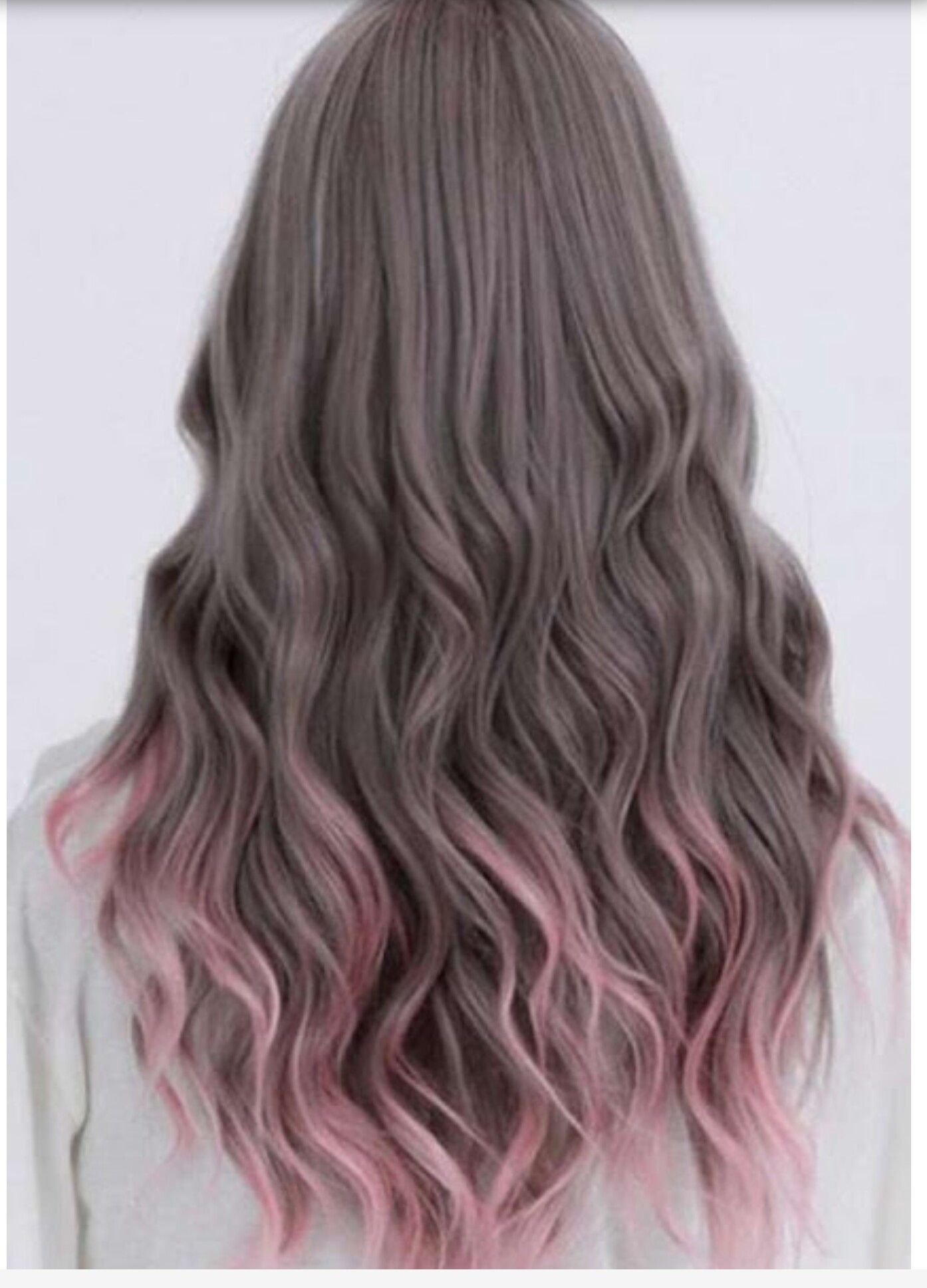 Brown to pink highlights Trendy Hair colours Pinterest