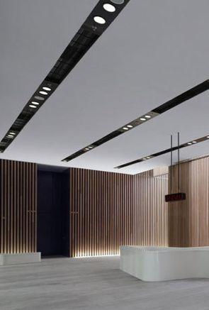 Minimal reception space hospitality design Pinterest - Bao Contemporaneo