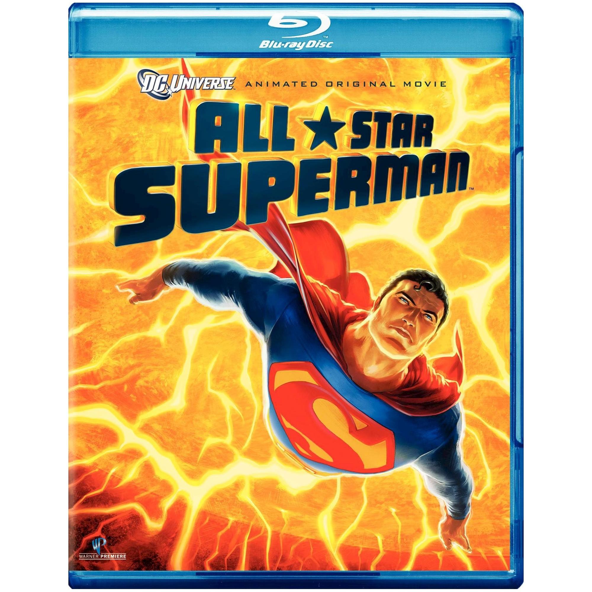 AllStar Superman (2 Discs) (Bluray/DVD) All star