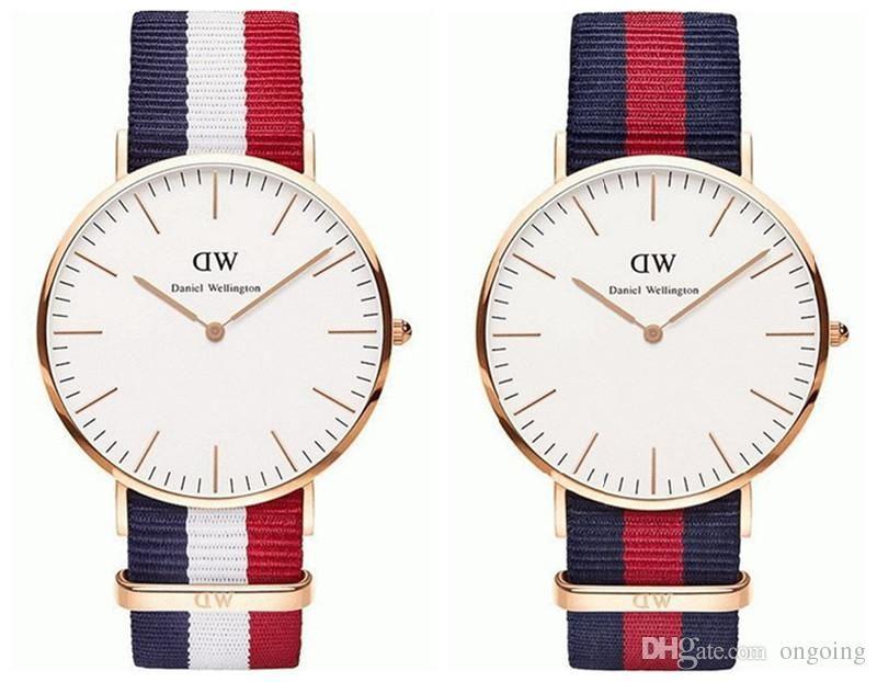 Armbanduhr am arm frau  Großhandel Top Brand Luxuxart Daniel Wellington Uhren Dw Uhr Für ...