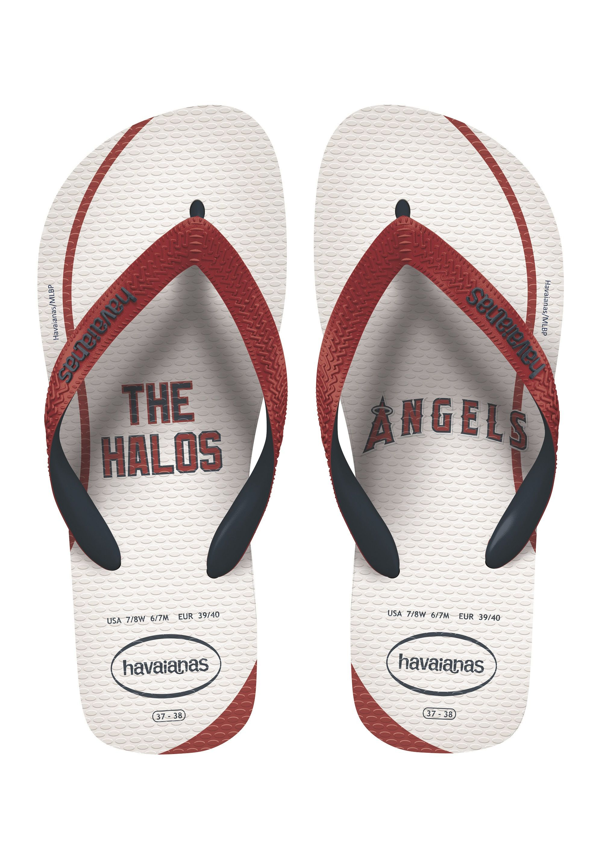 f22d7b74e Havaianas Top Mlb Sandal White Ruby Red Price From  20