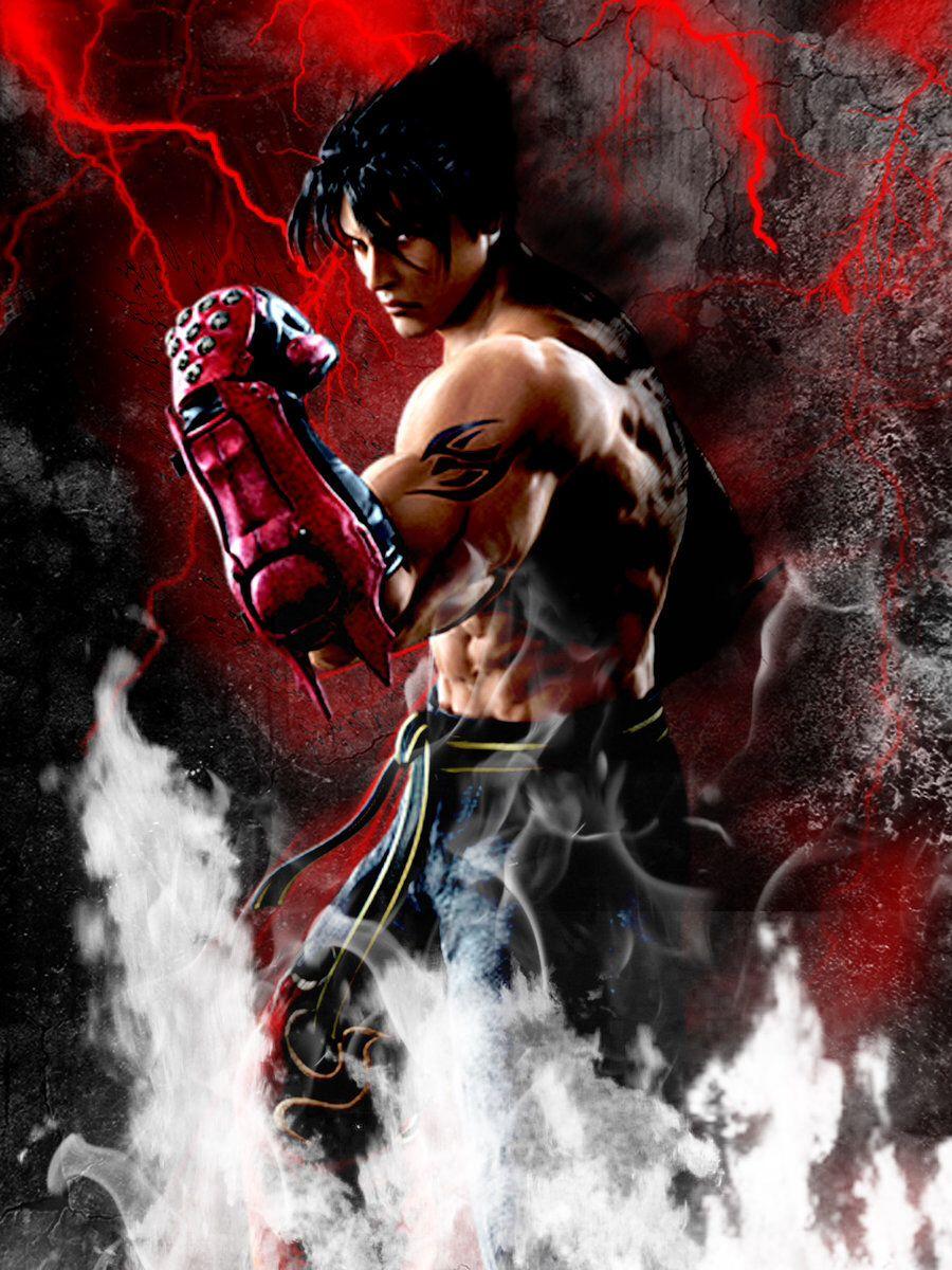 Tekken\'s Jin Kazama   Tekken   Pinterest   Wallpapers para celular ...