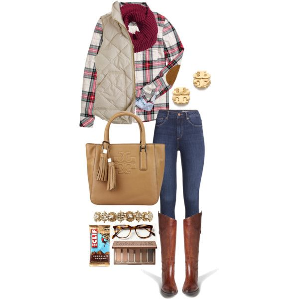 Layers for Fall by lalalanie on Polyvore featuring H&M, J.Crew, Sam Edelman, Tory Burch and Urban Decay