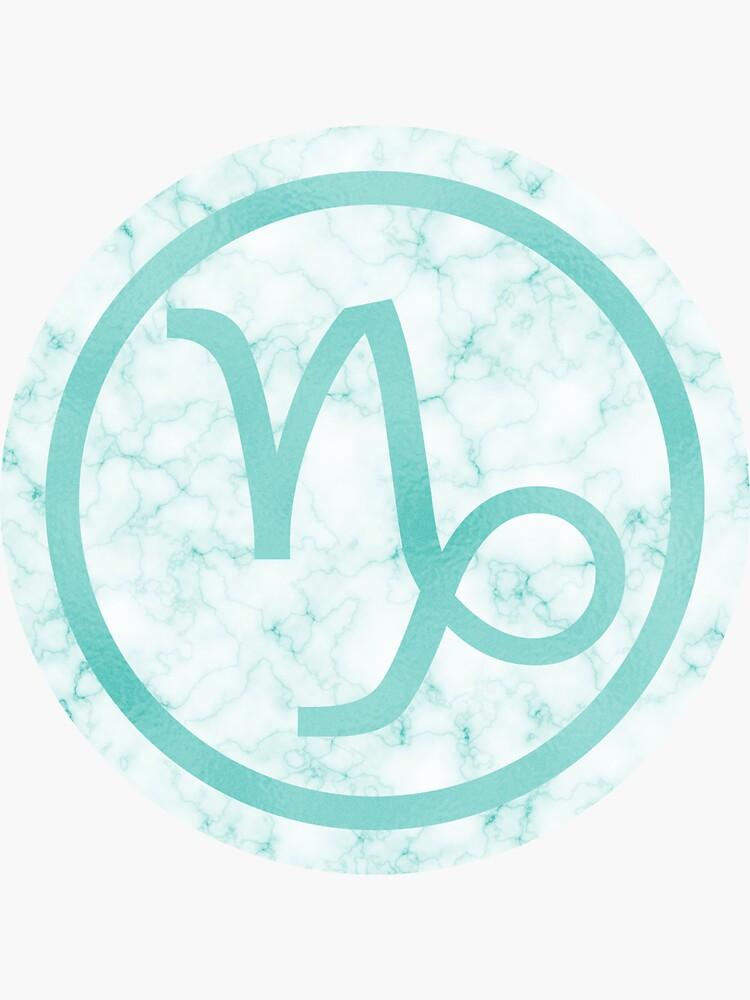 Blue Marble Zodiac Capricorn Sticker With Images Blue Marble Zodiac Capricorn Zodiac