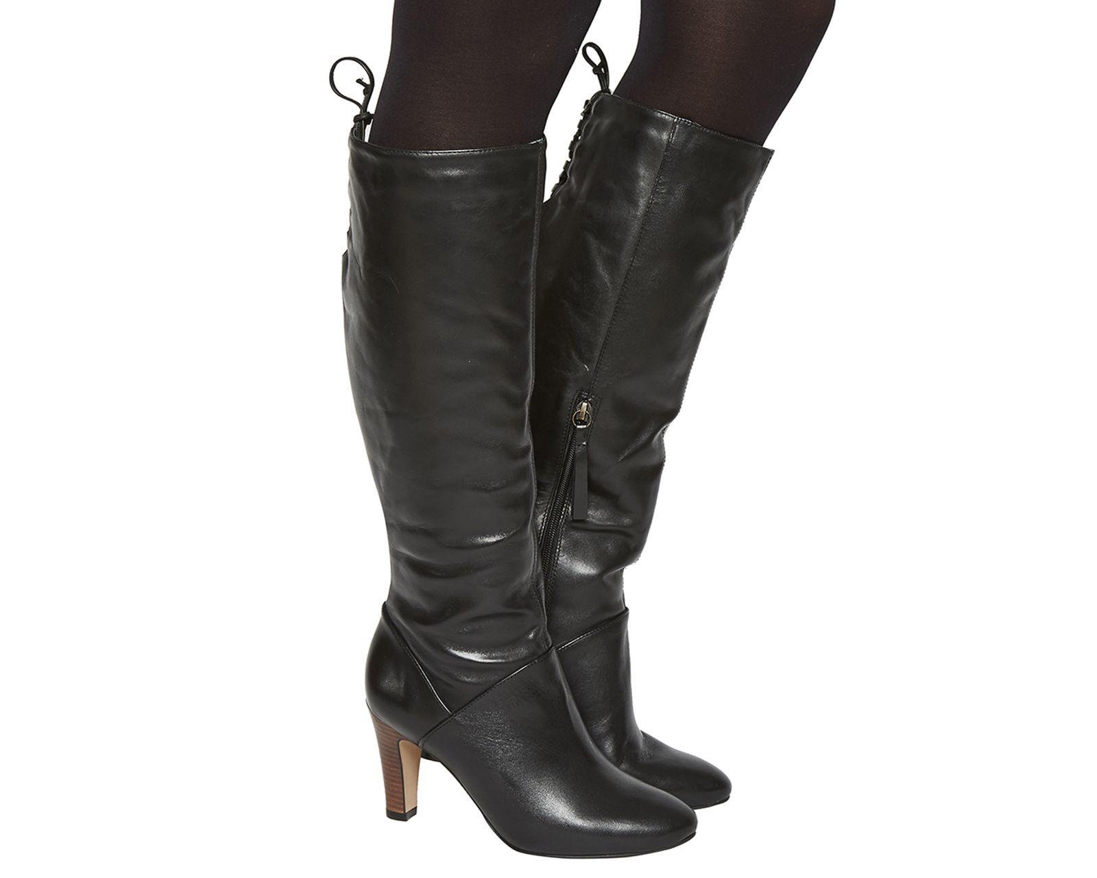 cb656add322 Knicks Block Heel Knee Boots   Fashion Wish List   Boots, Black ...