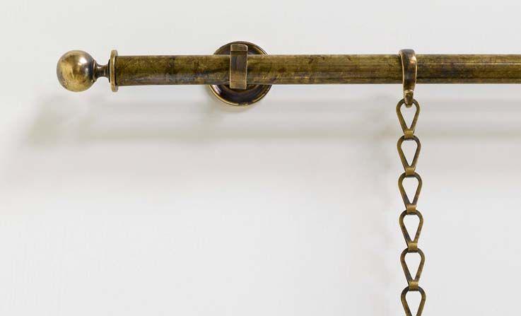 Acorn Finial In Oak Finials Curtain Poles Robert Kime Ltd