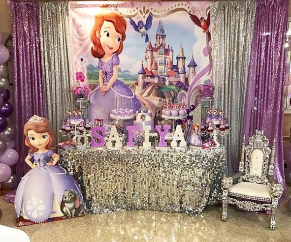 101 fiestas fiesta tem tica de la princesa sof a fiesta - Fiestas de cumpleanos de princesas ...