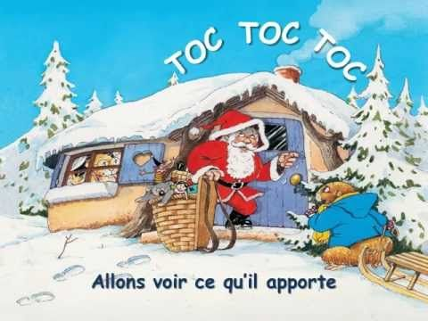 Quand Le Pere Noel Wmv Youtube French Christmas Songs French