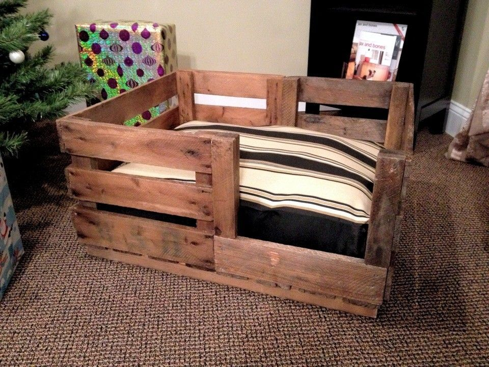 custom made retired produce crate dog bed dog beds and