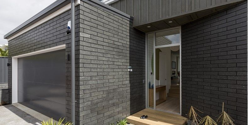 black brick and black mortar nz google search dark grey home
