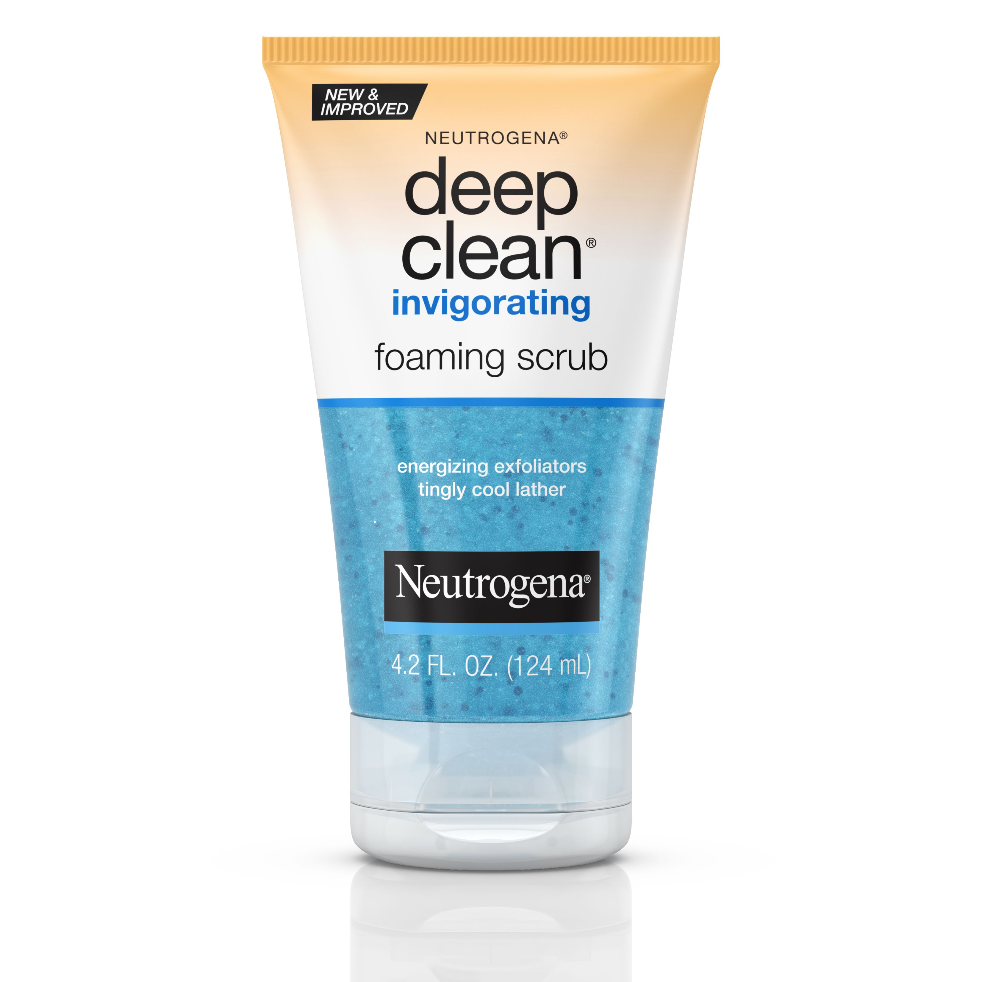 Deep Clean Invigorating Foaming Face Scrub Neutrogena In 2020