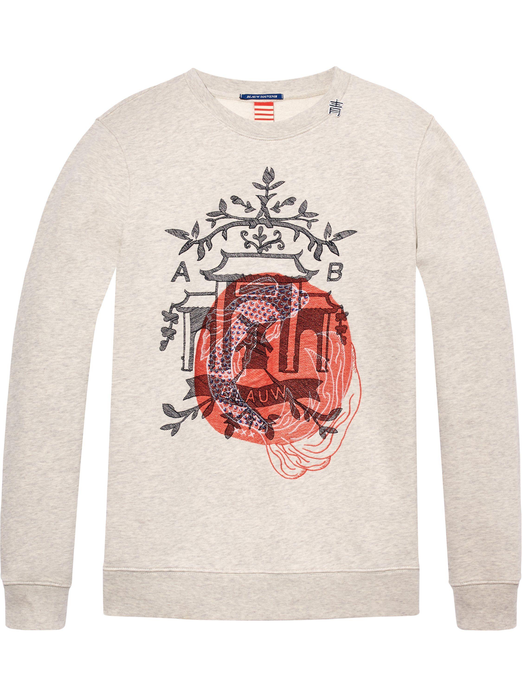 5e84926f8 Scotch Soda, Rib Knit, Crew Neck, Graphic Sweatshirt, Collars, Mens Fashion