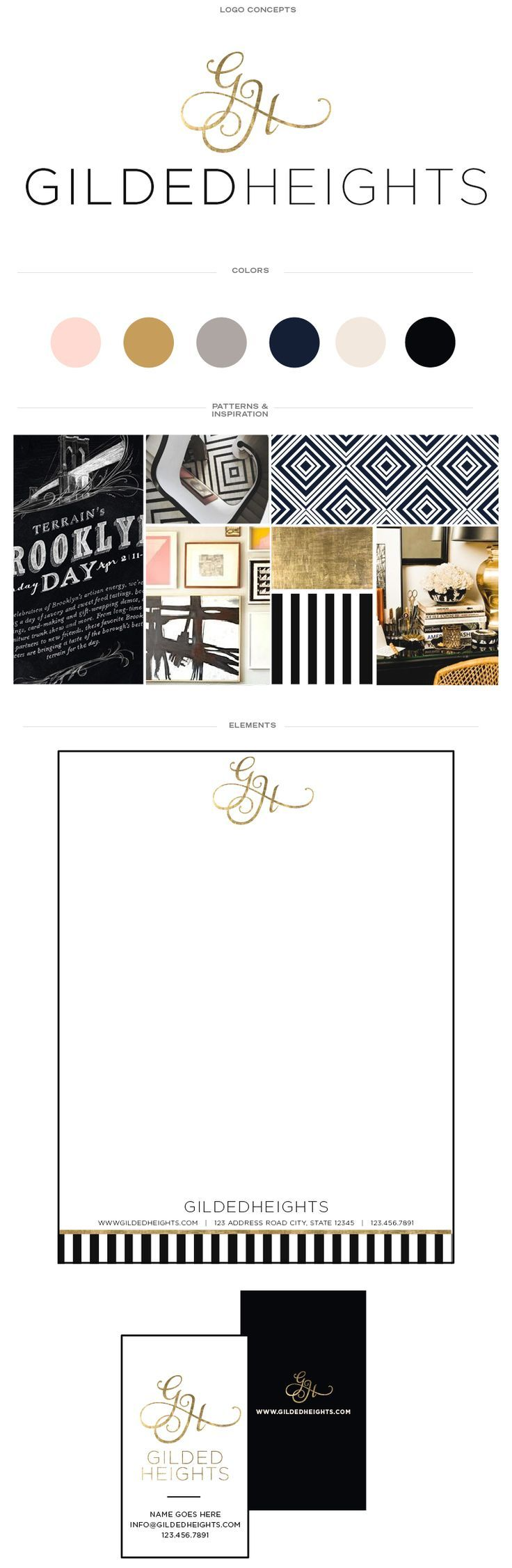 Interior Designer, Gilded Heights' New Brand and Website