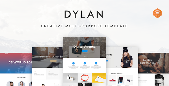 Delightful Dylan   Responsive Multi Purpose Joomla Template. Resume TemplatesTemplates  FreeJoomla ...