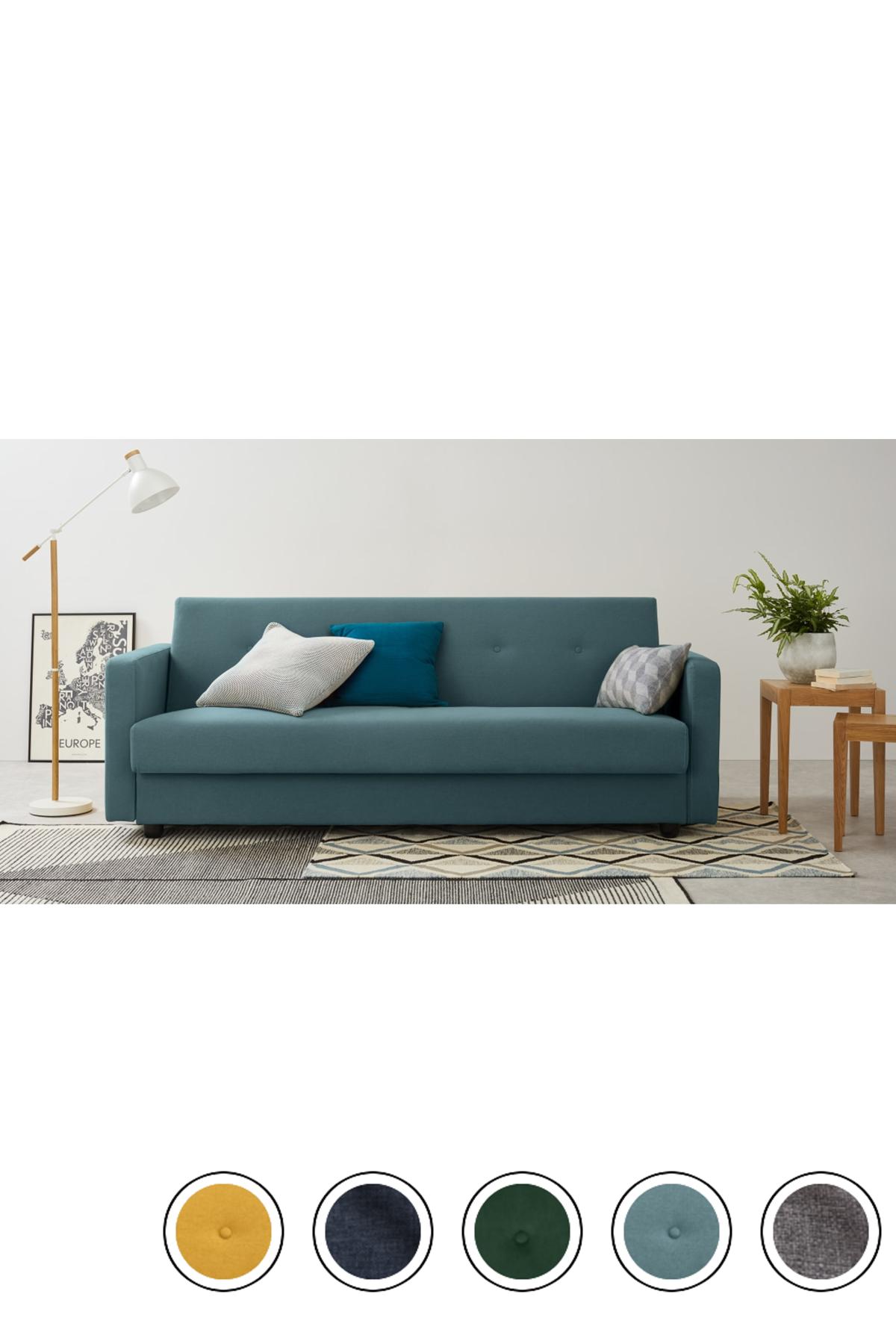 Sherbet Blue Sofa Bed