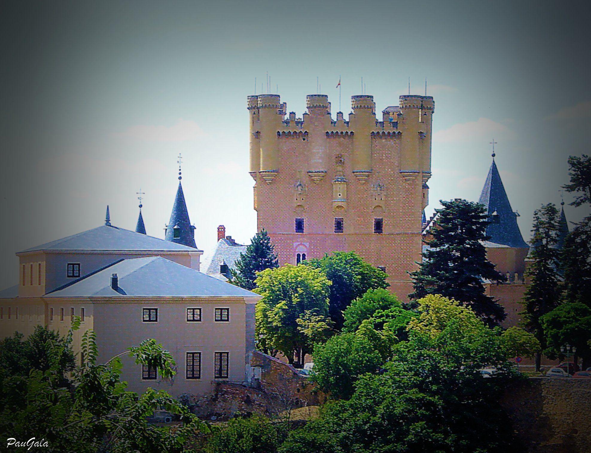 Alcázar de Segovia.