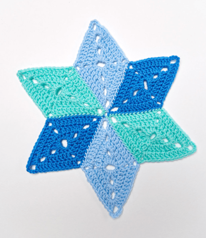 Star table mat coasters crafts with free pattern written free star table mat coasters crafts with free pattern written yarn of crochet ccuart Choice Image