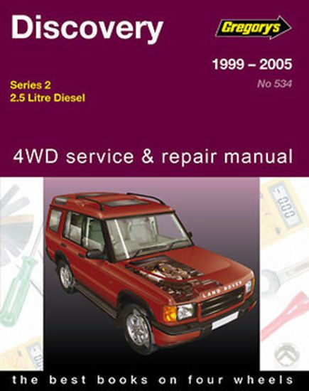 Gregorys landrover discovery series2 tdi5 diesel workshop repair gregorys landrover discovery series2 tdi5 diesel workshop repair manual mpn gap05534 fandeluxe Images