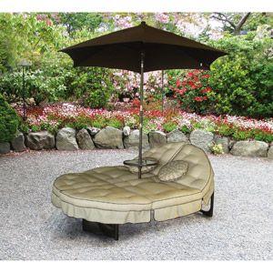 Patio Garden Double Chaise Lounge Outdoor Patio Lounge