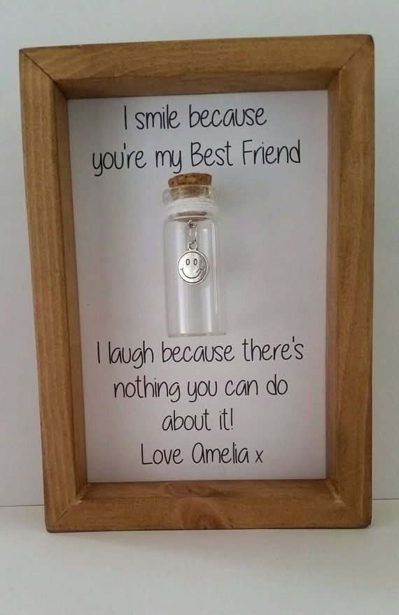 Best Friend Gift Ideas For Christmas Part - 38: Best Friend Gift By Undertheblossomtree.com Best Friend Quotes. Funny Gifts  For Friends.