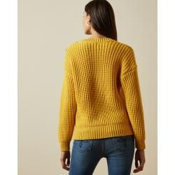 Photo of Zopfmusterpullover mit Knopfdetails Ted Baker