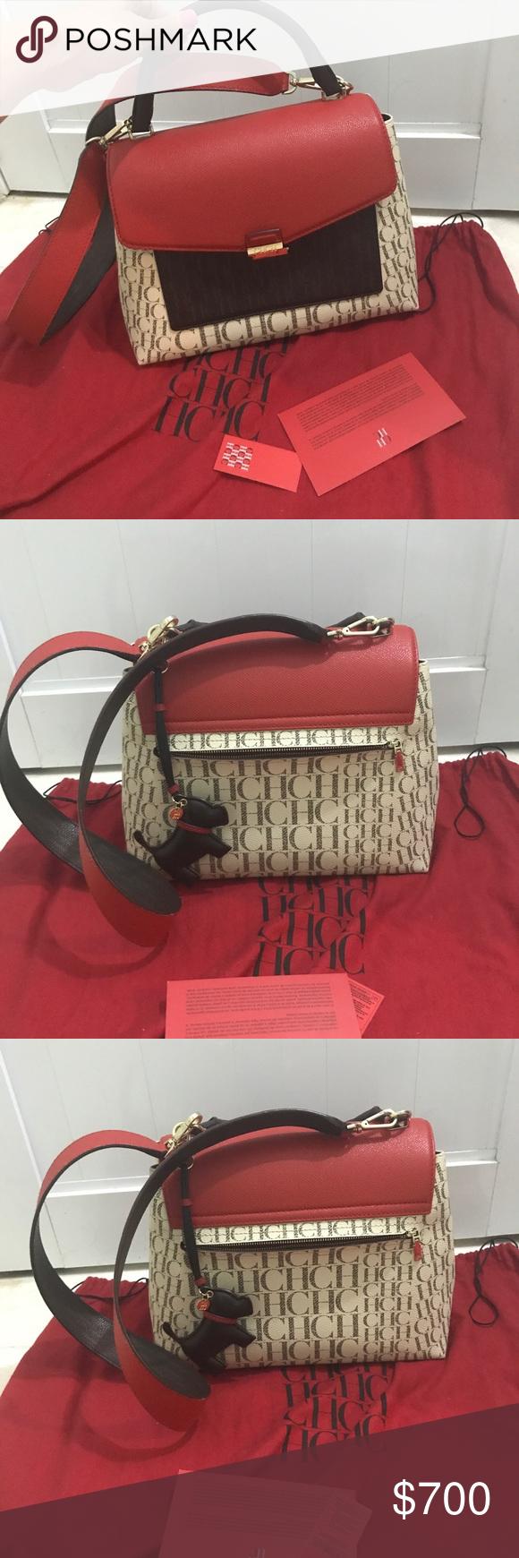 Carolina Herrera Minuetto Handbag Like new retail price 940+ taxes+ charm  this is a new model actually in CH stores Carolina Herrera Bags 0da75299247f8