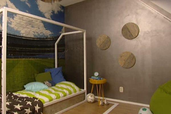 voetbal slaapkamer - Google zoeken | slaapkamer jongen | Pinterest