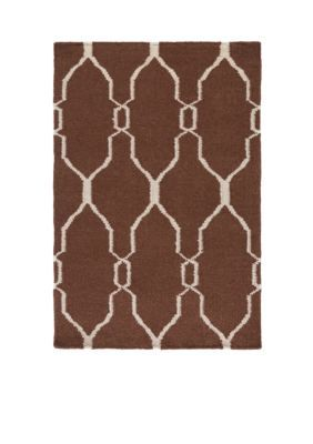 SURYA Brown FAL1000-23 CHOCOLATE RUG