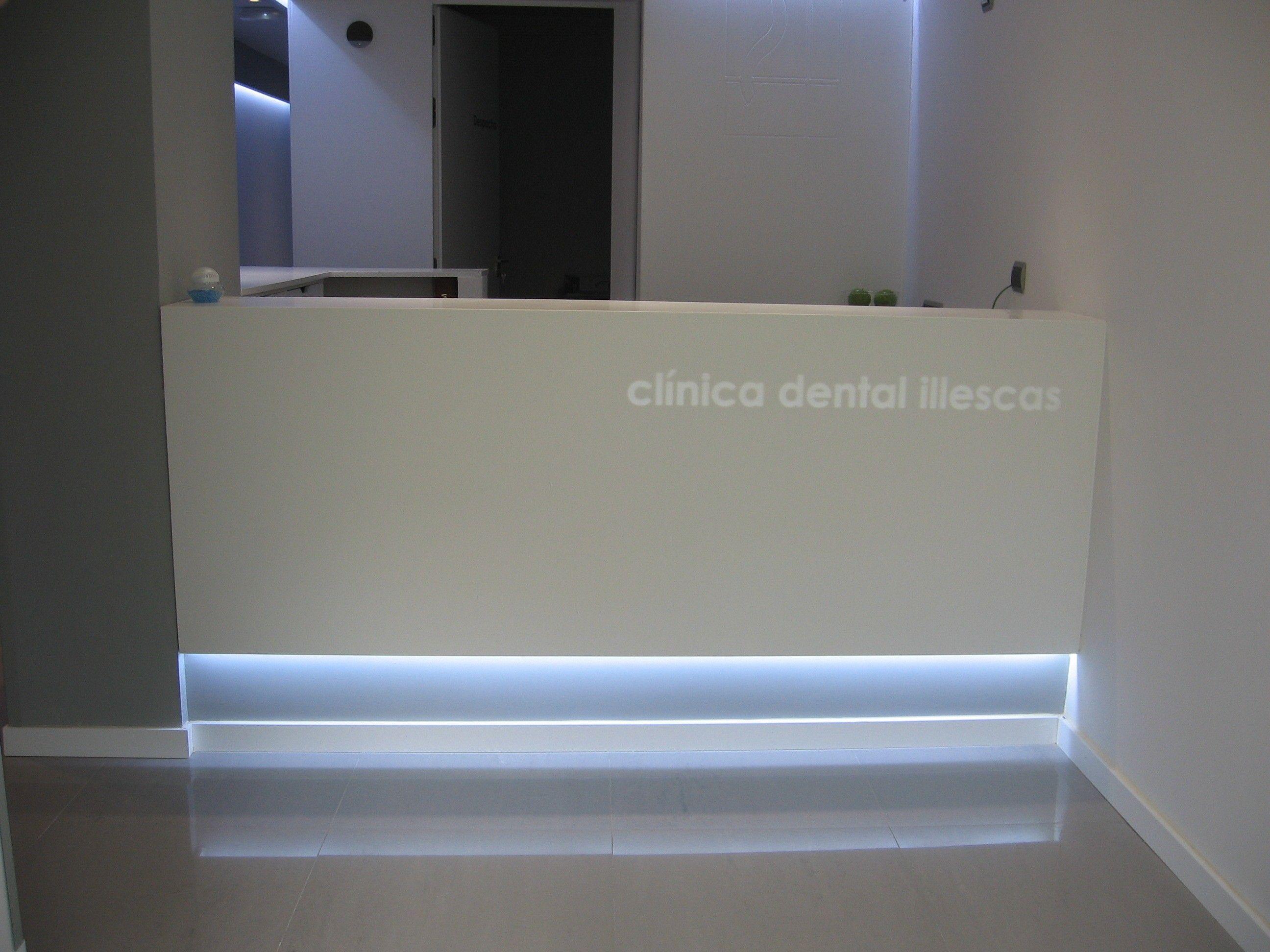 Minimalist Desk Mostrador Minimalista Fornitures Desk Bar  # Muebles Odontologicos Colombia