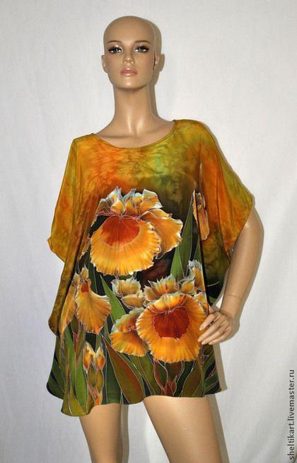 ca55e52e964 Блузки ручной работы. Блуза Батик