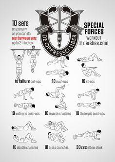 special forces workout …  special forces workout army