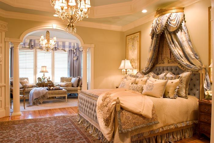 Luxuriöse Schlafzimmer · Luxusschlafzimmer · Fit For A Queen