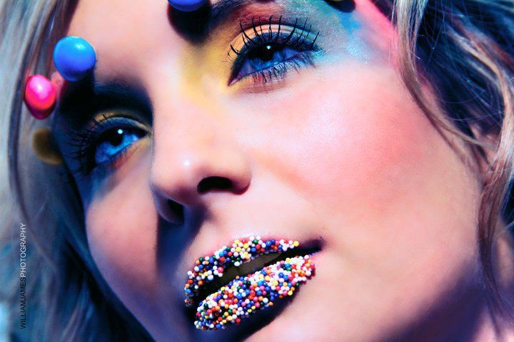 Candy makeup by Joann Boznos