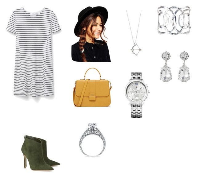 """""""Untitled #120"""" by haterz18 on Polyvore featuring MANGO, Gianvito Rossi, ASOS, Tommy Hilfiger and Kenneth Jay Lane"""
