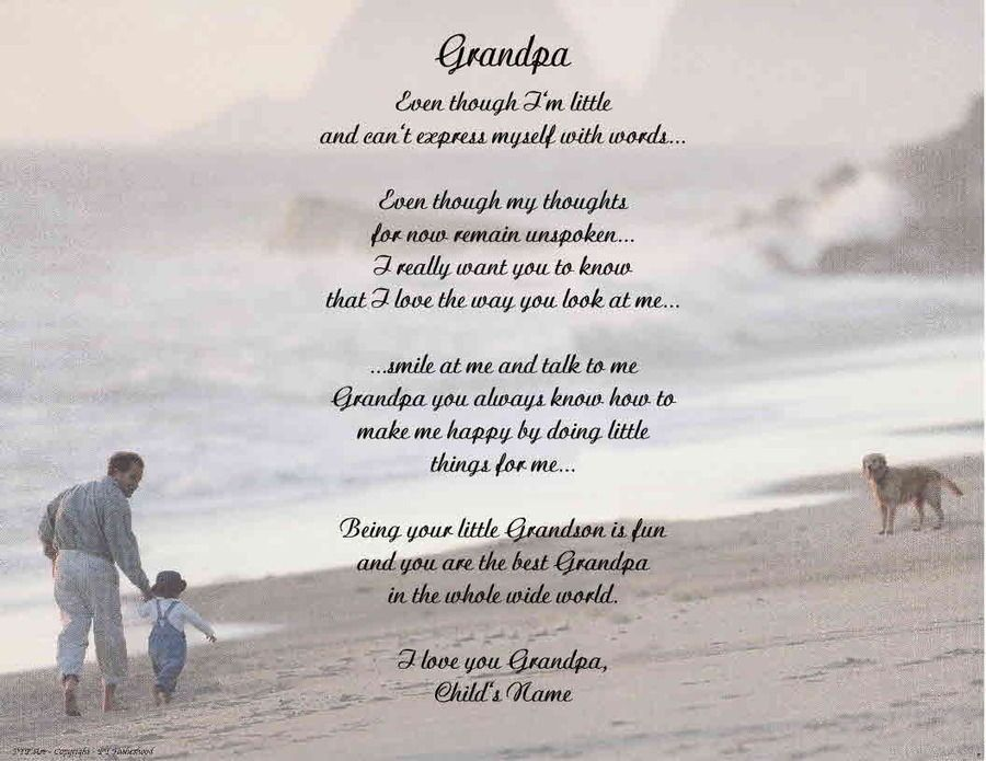 fathers day poems for grandpa - Google Search | love | Pinterest ...